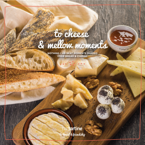 To Cheese & Mellow Moments!