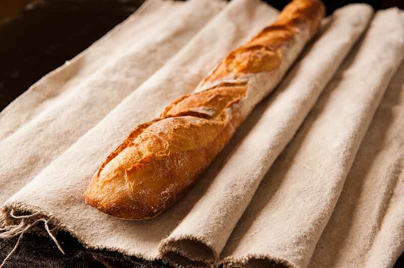 Baguette de tradition nature