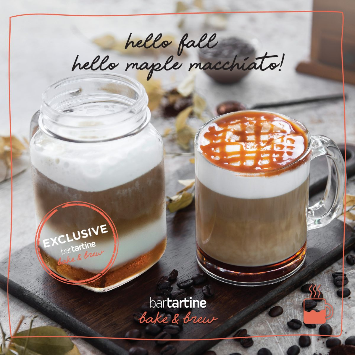 Hello Fall! Hello Maple Macchiato!