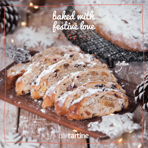 Baked with Festive Love: Stollen!