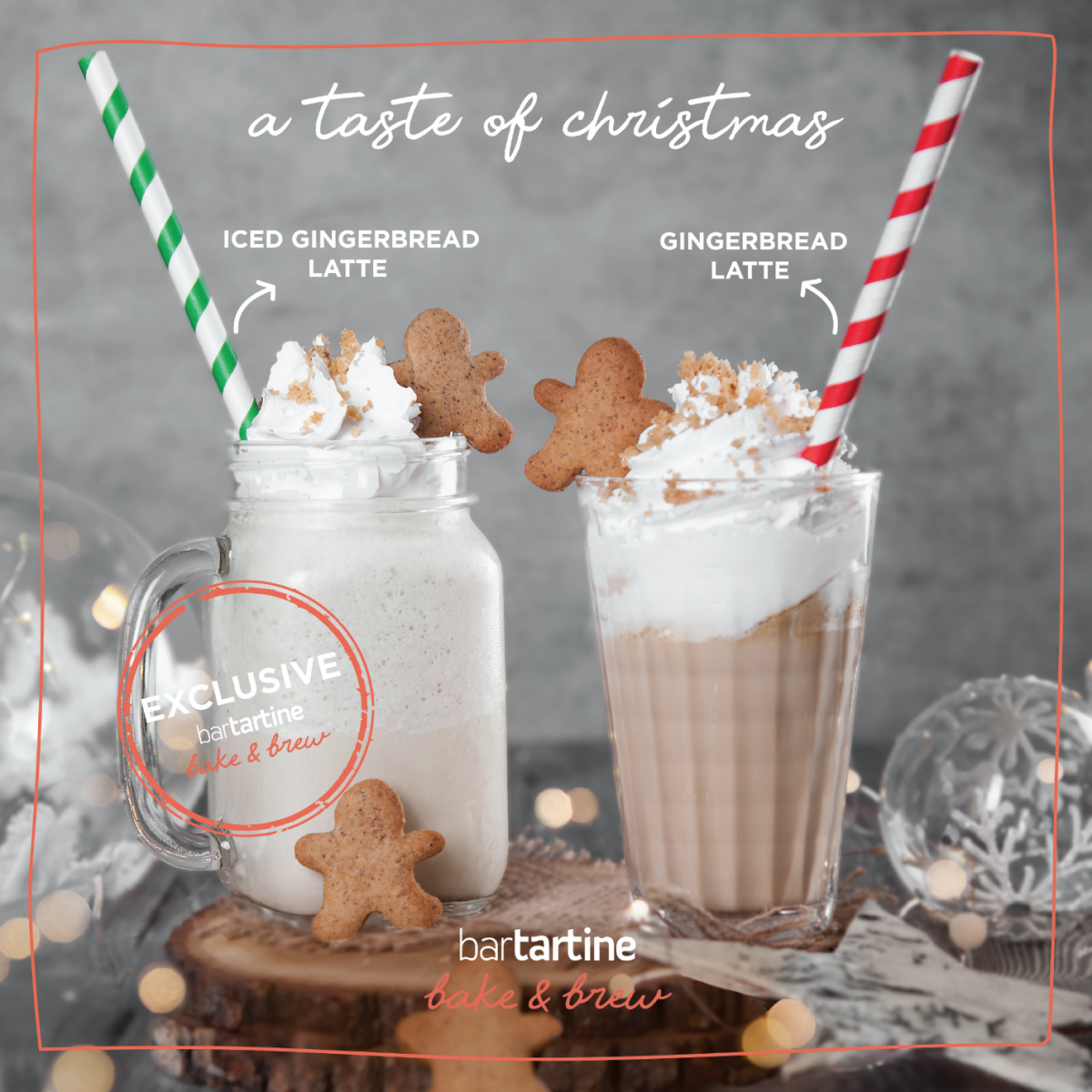 A Taste of Christmas: Gingerbread Latte!