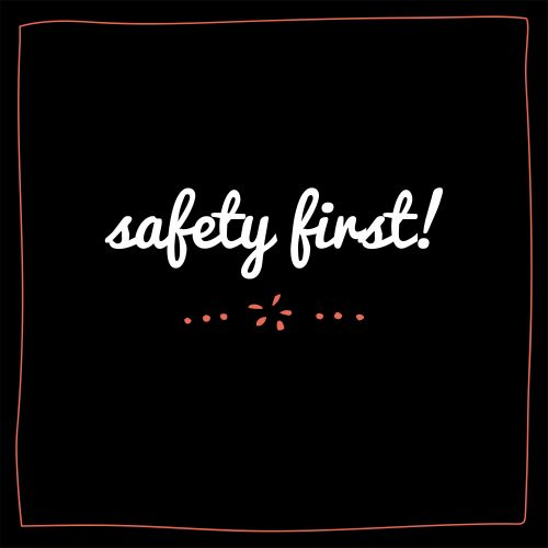 SAFETY FIRST! OUR BRANCHES CLOSED FOR DINE IN